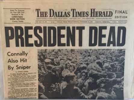 Dallas Herald JFK Assassination