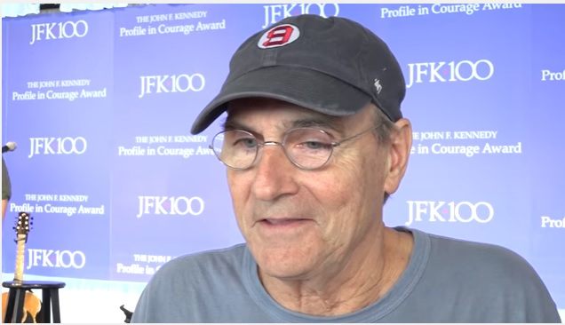 James Taylor at Kennedy Library & Museum