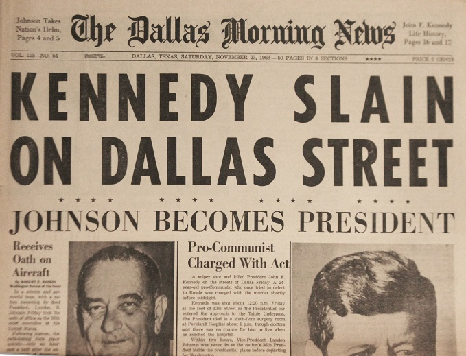 Dallas Morning News JFK Assassination