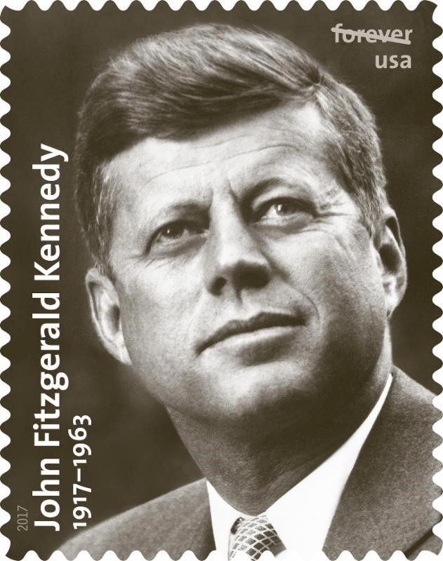 John F Kennedy Stamp Announced