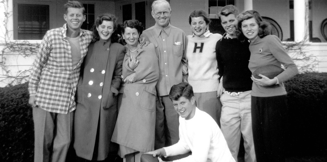 Kennedy family photograph