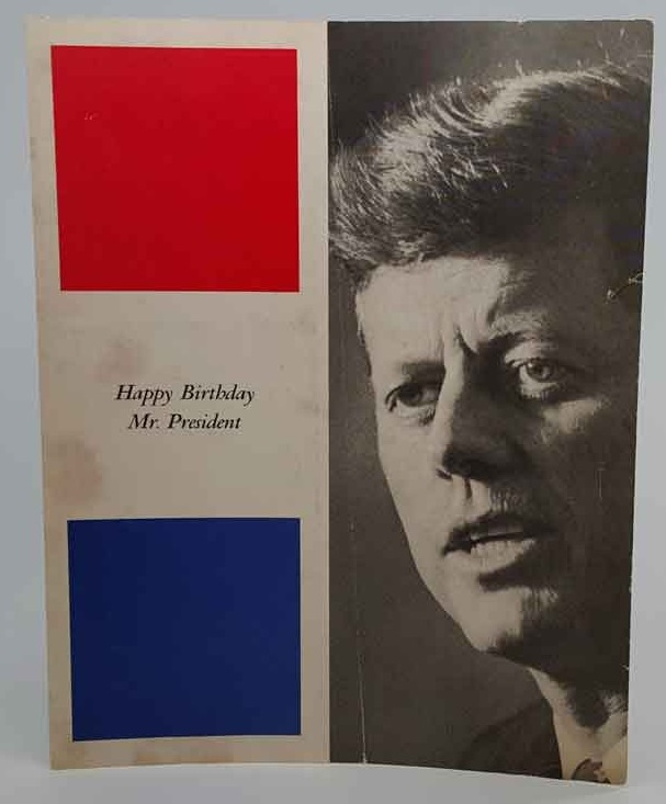 JFK Marilyn Monroe Happy Birthday Mr. President