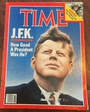 Time Magazine Kennedy